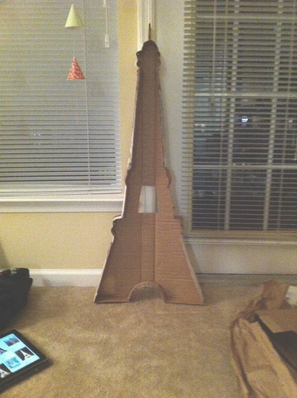 Diy Eiffel Tower Marquee Light The Hungry Bear